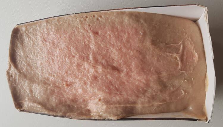 Fleischkäsebrät in Form zum Aufbacken im Backofen
